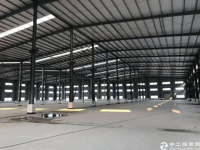 大岭山原房东单一层铁皮厂房招租