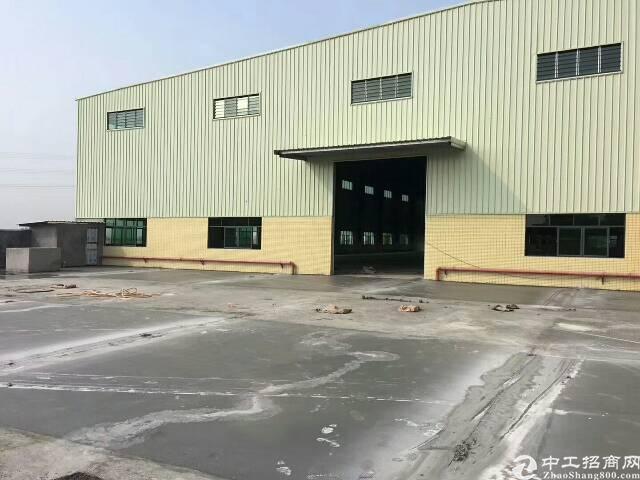 全新独院钢构厂房4800平方出租,空地3000
