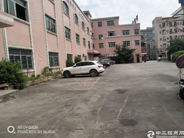 大朗镇松伯朗原业主厂房5500平方独院出租