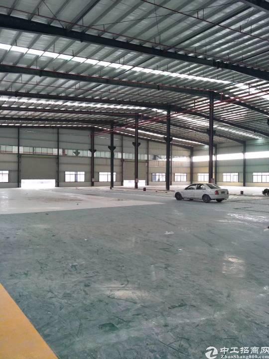 虎门镇广深高速路口新出全新钢构厂房招租可过环评