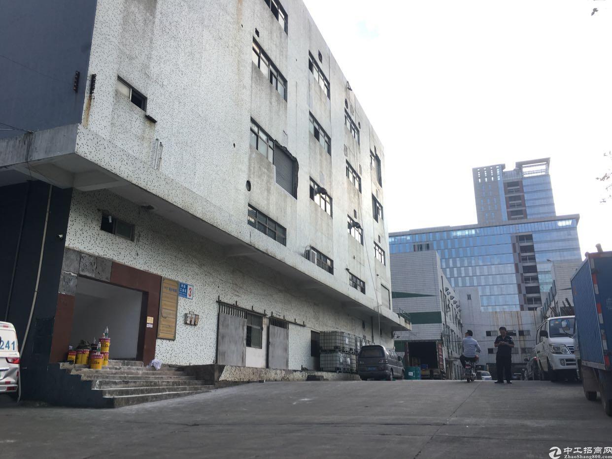 布吉上李朗红本独院厂房1-5层15000平方大小面积分租