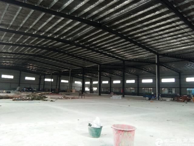 大岭山原房东独院单一层钢构厂房出租