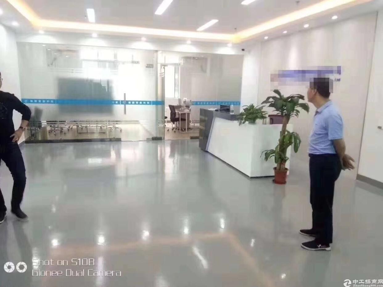 龙华大浪商业中心附近新出原房东带装修全新地坪漆厂房出租