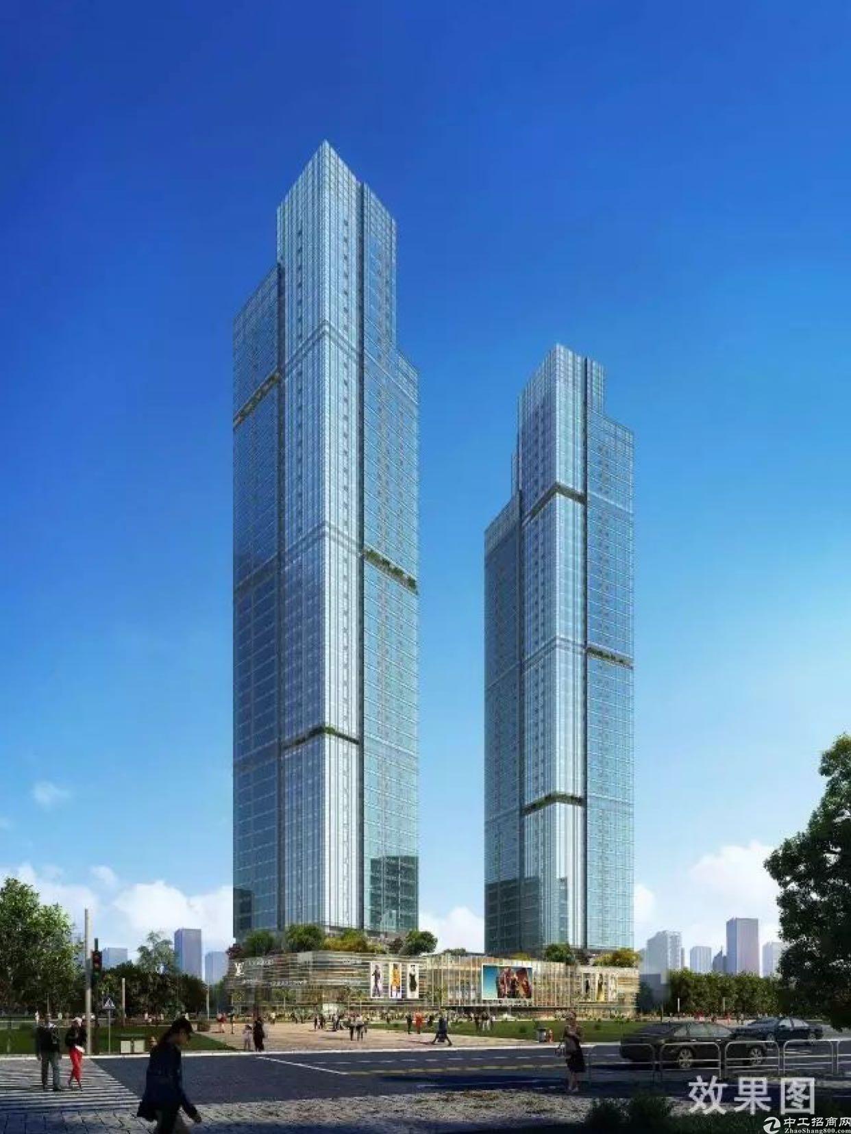 深圳南山中心区写字楼大厦整栋出售5万平米