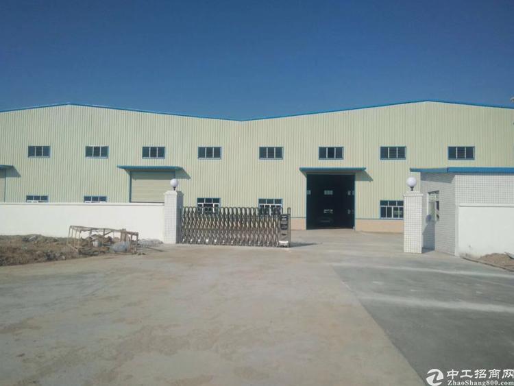 惠州市罗阳镇新出20,600平原房东独院10米钢构厂房出租