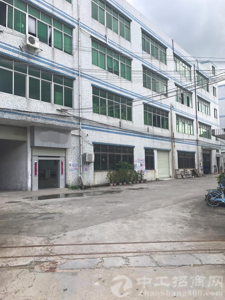 厚街陈屋新出标准独院3楼厂房2600平整层,周边交通好可分租