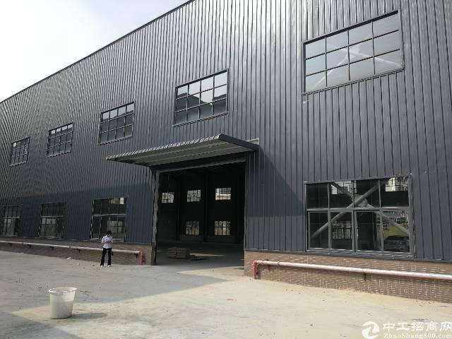 博罗四角楼高速旁新出独院6000平钢构厂房出租