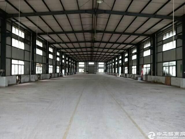 惠州市三栋新空出钢结构厂房仓库出租