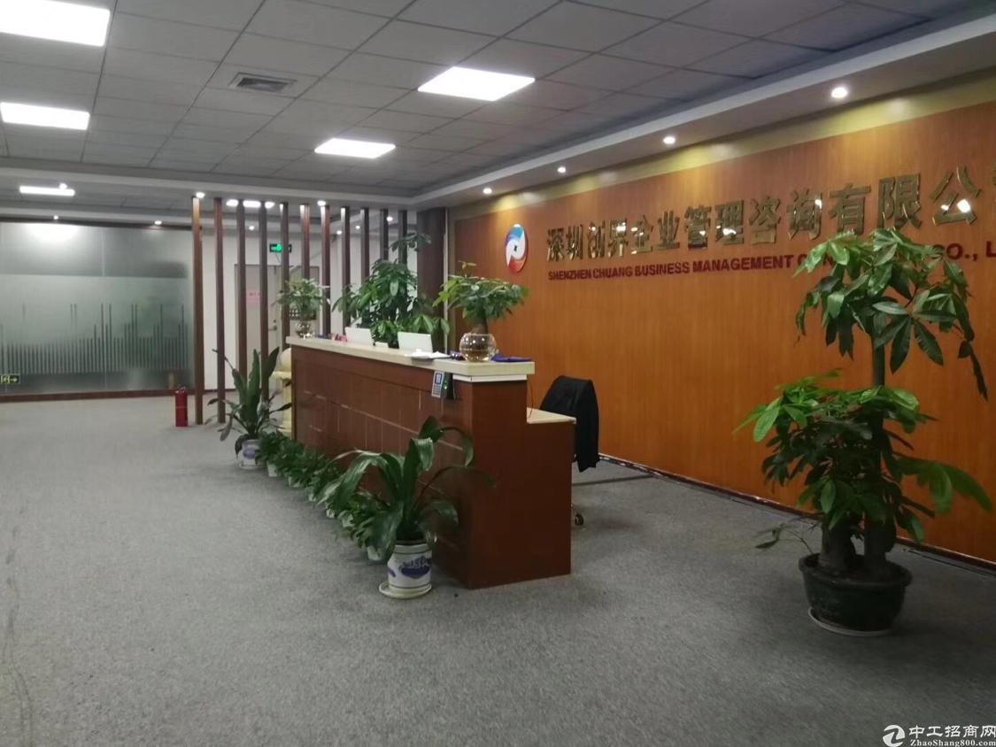 龙华油松新出稀缺资源1500平精装修厂房