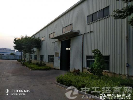厚街宝屯现空出单一层独院钢构4800平方,空地超大,工业集中