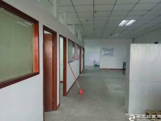 西乡鹤洲洲石路边300㎡带装修厂房出租(拎包生产)-图5