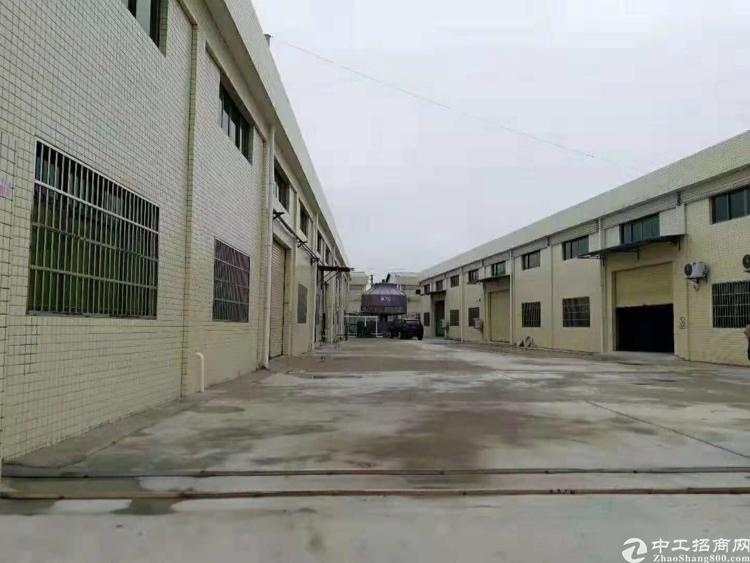 惠州市博罗县石湾镇6600方标准单层厂房出售