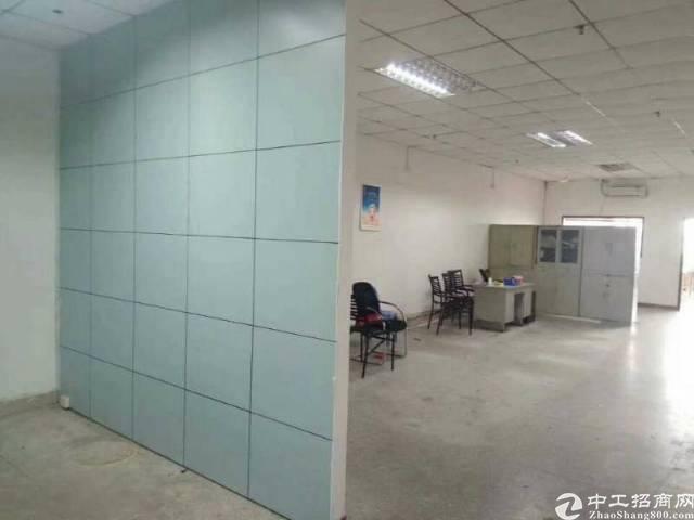 西乡鹤洲洲石路边300㎡带装修厂房出租(拎包生产)-图4