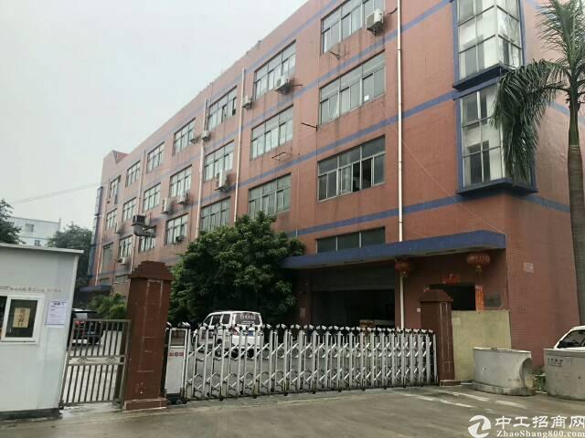 福永107国道边。大型工业区。原房东无公摊一二楼厂房出租