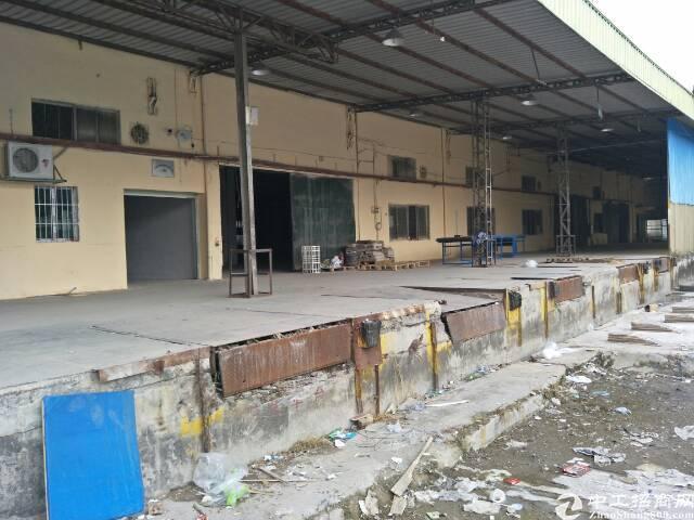 龙华清湖带卸货平台仓库5000平米,32元一平,可分租,