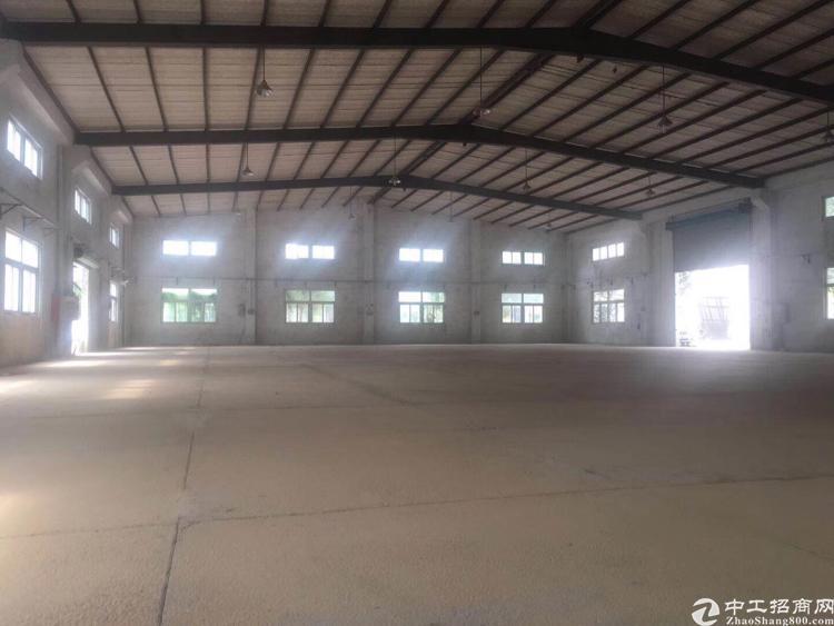 惠阳沙田独院钢构厂房6800平出租