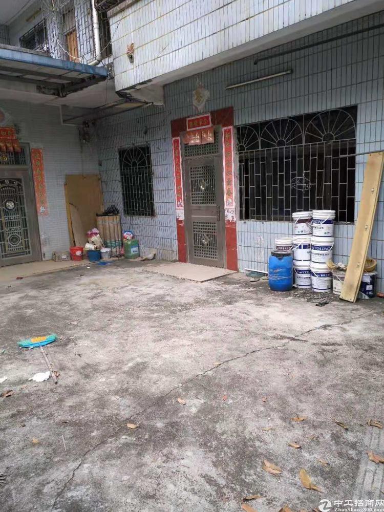 惠州市惠城区小金口青塘村独院临路边独院一楼小厂房招租