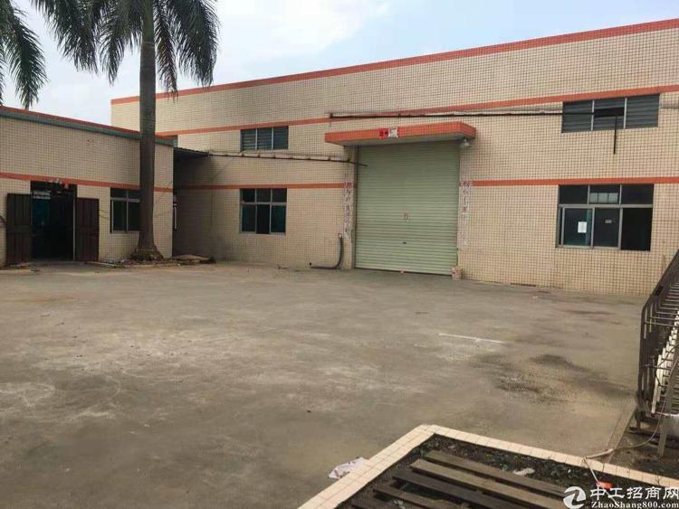 惠州市搏罗县龙溪50产权单一层厂房出售