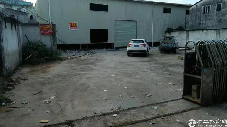 惠州市博罗县石湾5000方钢结构厂房出售