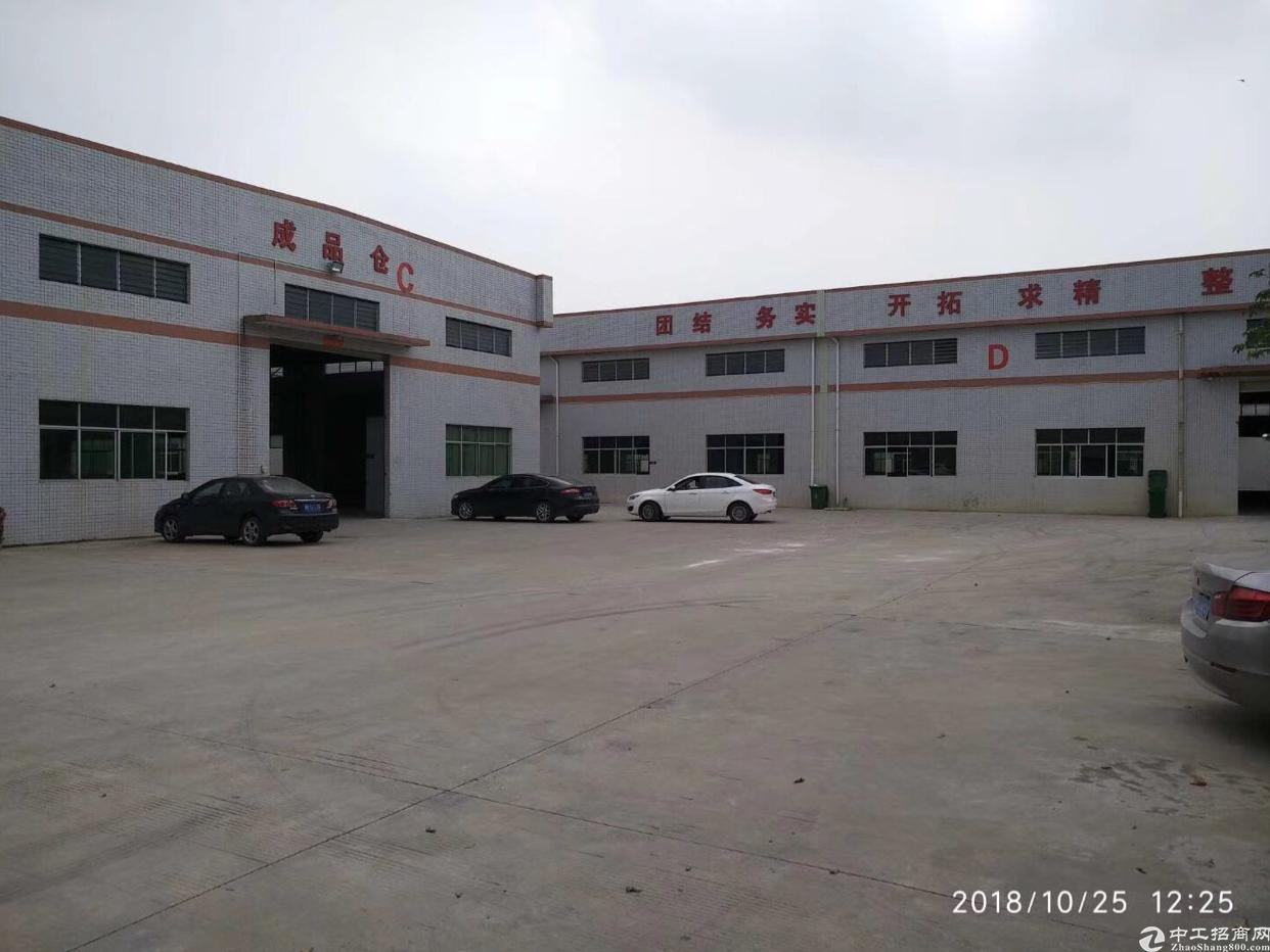 寮步华南工业城新出钢结构厂房3300平方