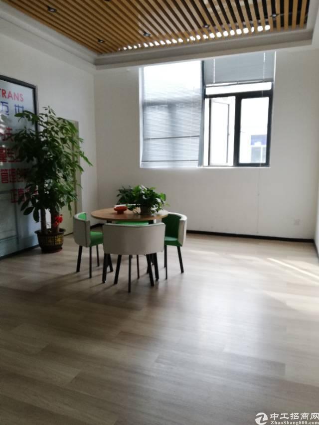 物业直租 福永地铁口 精装75平办公 随时进驻办公