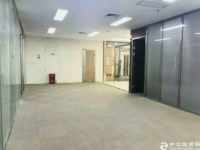 (出租) 福永集创码头写字楼直租 观湖景大小可分租 带精装修