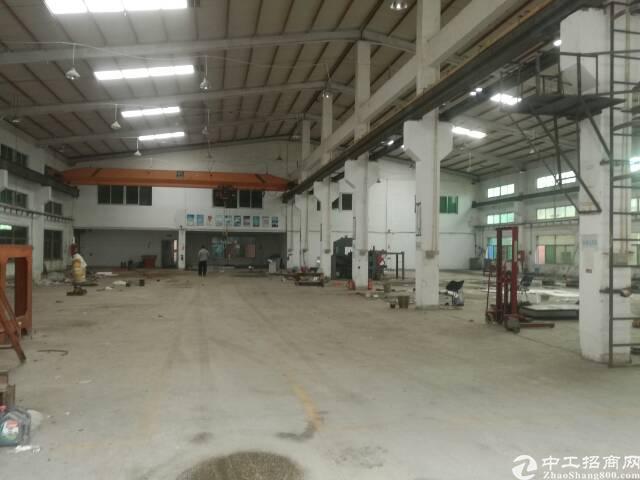 同乐4000平独院钢结构厂房出租
