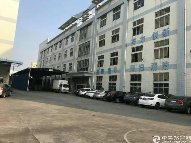 虎门镇北栅正规工业园内厂房分租2楼一整层3000平方实际面积