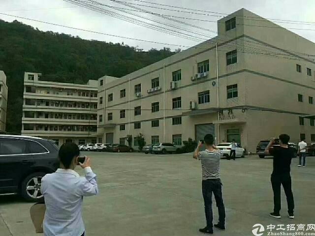 东莞生态园9800平方红本国有证厂房出售