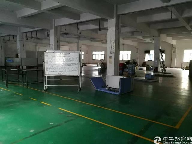 龙岗龙西社区大型工业区二楼厂房750平出租!