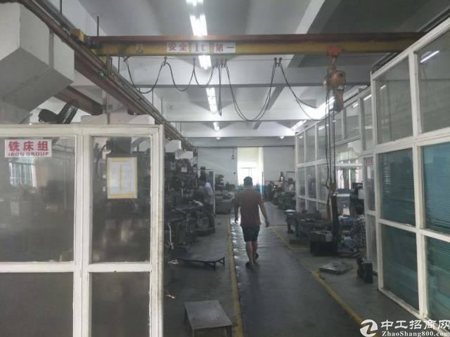 龙岗嶂背带横车一楼厂房1000平出租