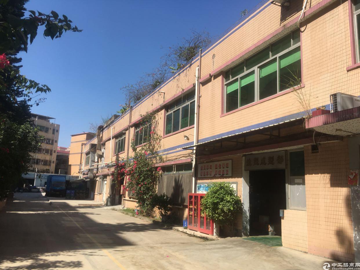 福永桥头宝安大道旁原房东厂房出租1500平