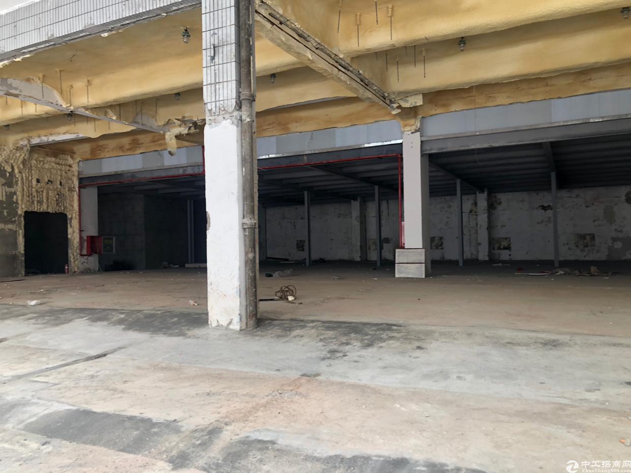 坂田五和地铁口六米高一楼厂房出租