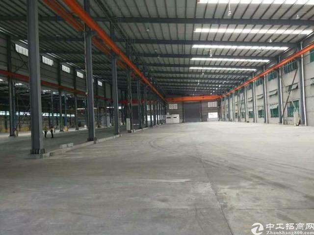 广州市新出带现成行车钢构厂房招租