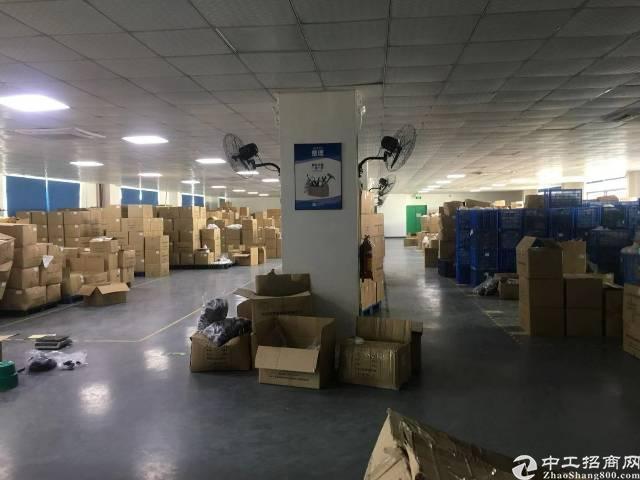 龙岗区平湖上木古工业区三楼1200平方带装修厂房出租-图3
