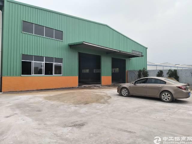 惠阳新圩4689平方原房东独院钢构厂房出租