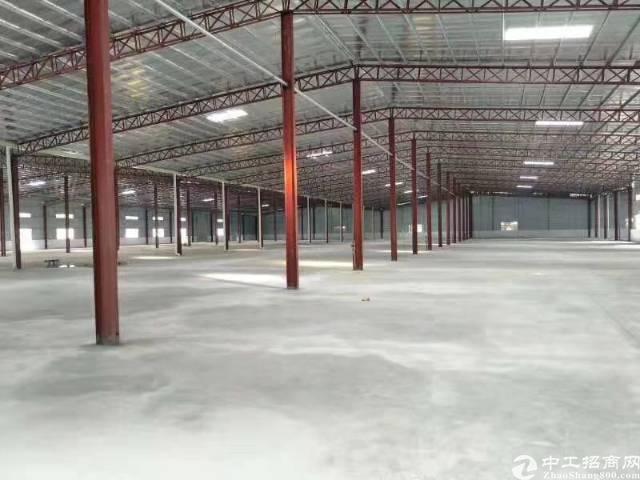 单一层独院14000平方可分两个独院厂房滴水8米到顶10米