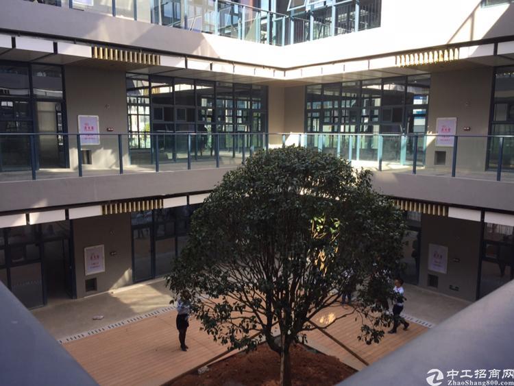 东莞南城地铁口林园式四合院精装写字楼出售130平方起可贷款带