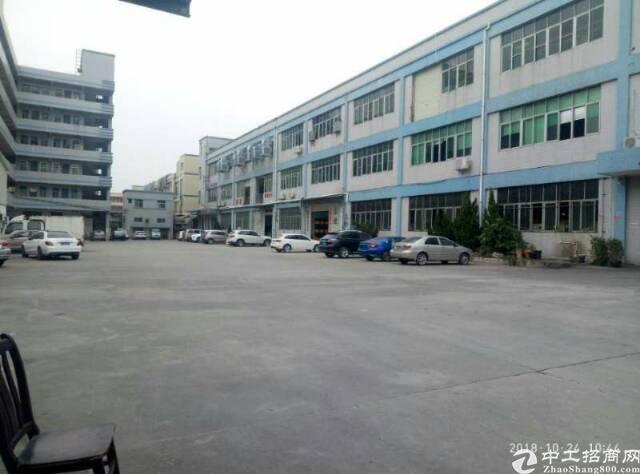 洪梅独院厂房仓库1-4层18700平方带卸货平台