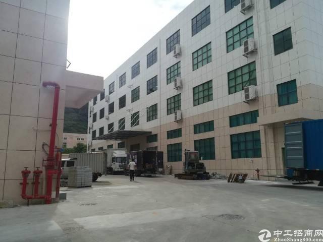 石岩水田新出楼上带装修厂房1500平