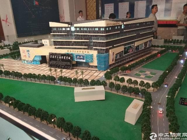 龙华民治大型港深国际大厦隆重开盘招商。