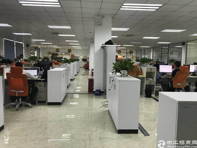 福永大洋田机器人产业园区楼上整层1590平米出租