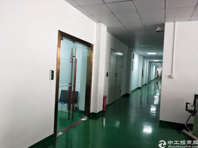 西乡固戍地铁口固戍二路边上1500平米带装修厂房出租。