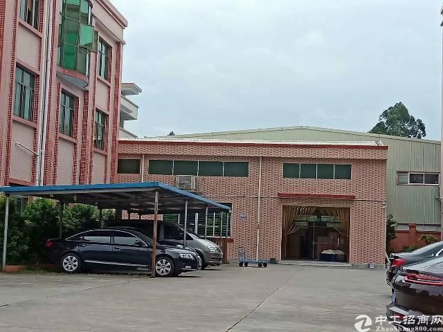 茶山镇新出原房东一楼出租,层高五米,电250,厂房面积120