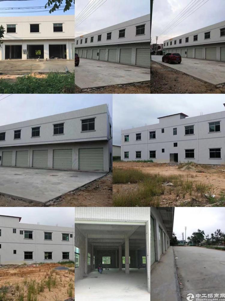 惠州市罗阳镇新建二层临国道低价标准厂房出租
