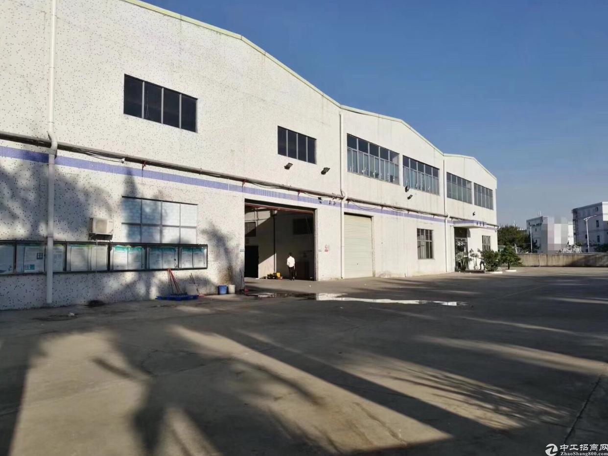 坪山大工业区红本钢构厂房13000平方出租