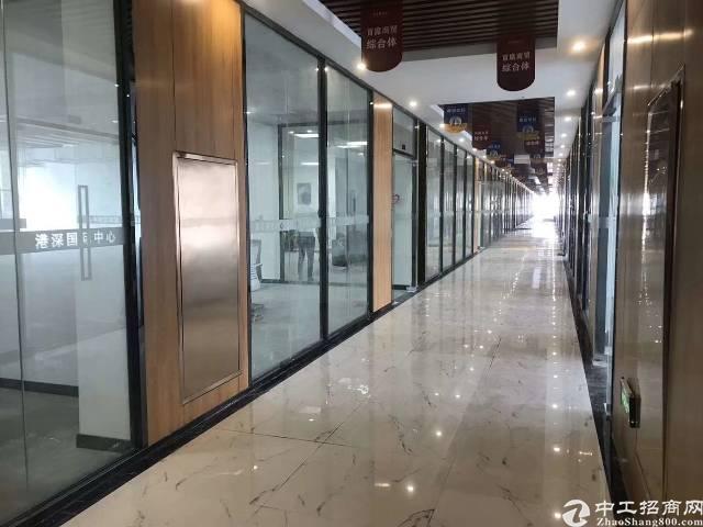 深圳龙华清湖地铁口160平豪华写字楼出租