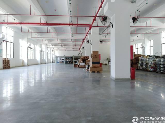 水口镇一楼六米高1620平米带装修厂房出租