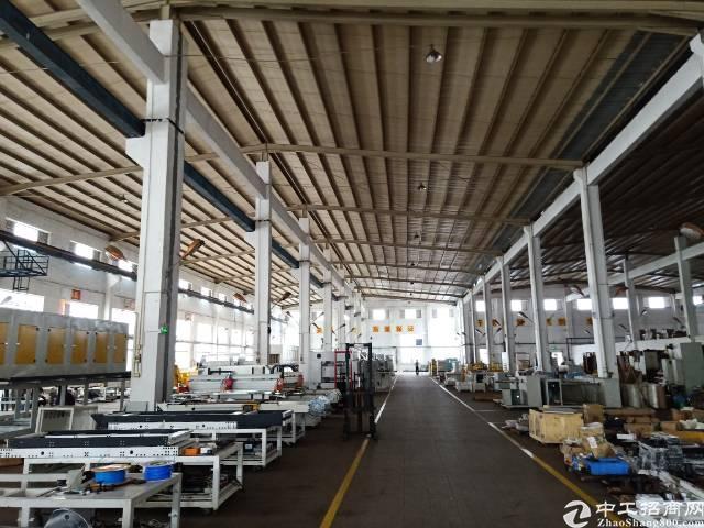公明合水口新出滴水12米高钢结构厂房租金19元-图5