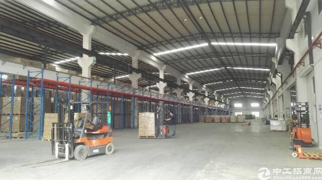 松岗广深高速路口附近大型红本钢构厂房15000平方滴水十米高